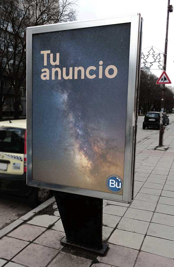 contratar publicidad exterior - Marquesinas autobús