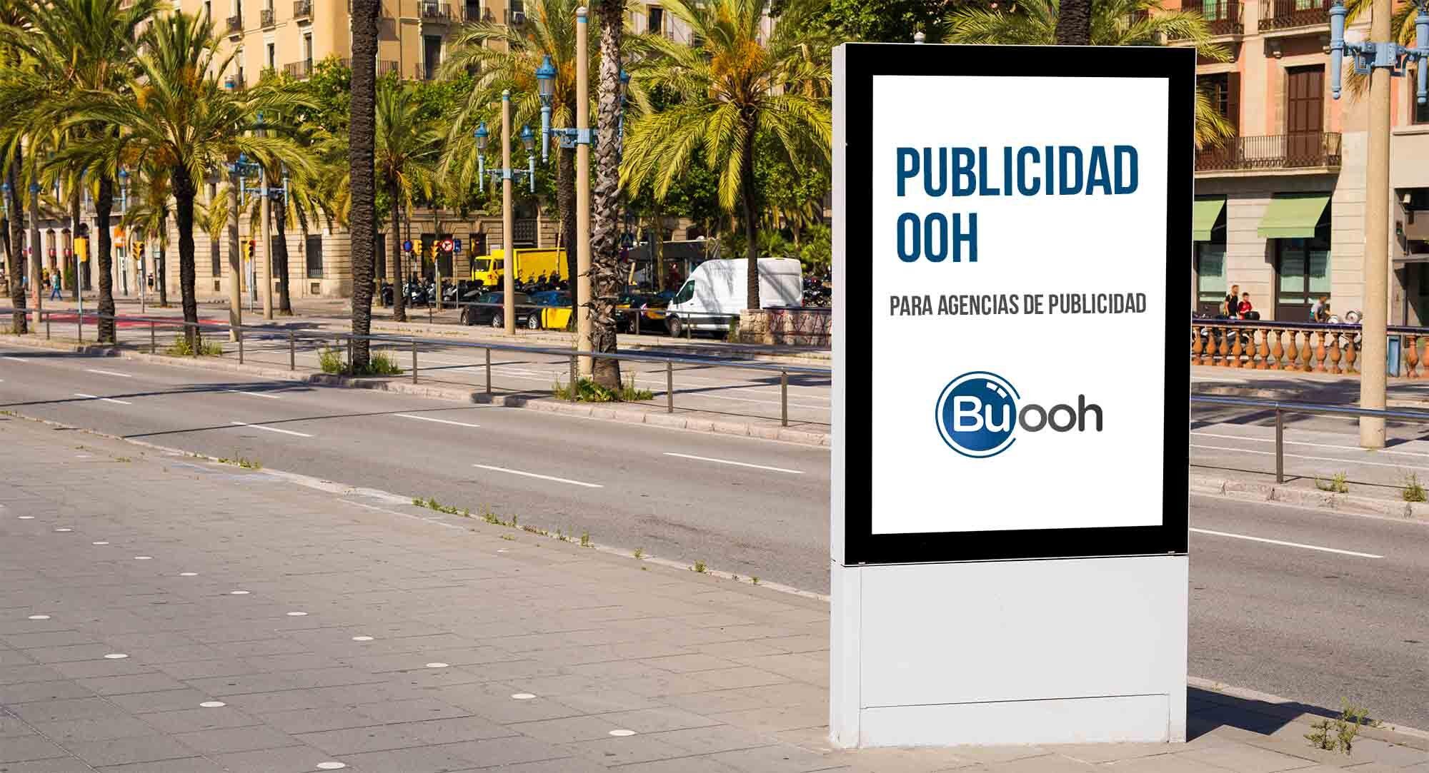 Publicidad exterior para agencias de publicidad - Buooh