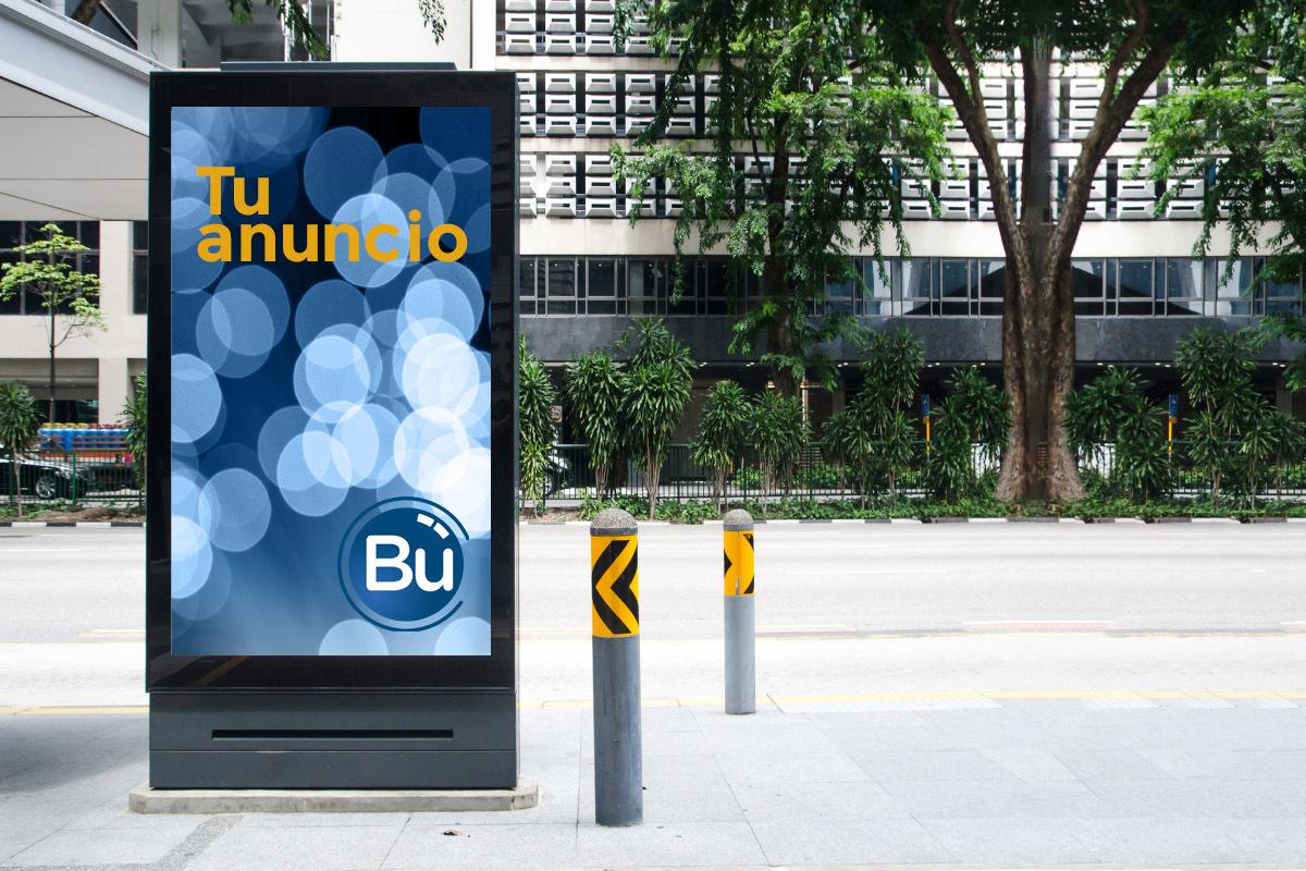 publicidad exterior para agencias de publicidad - publicidad ooh - buooh
