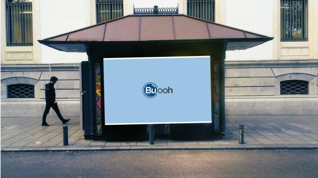 Publicidad en quioscos - buooh - publicidad ooh
